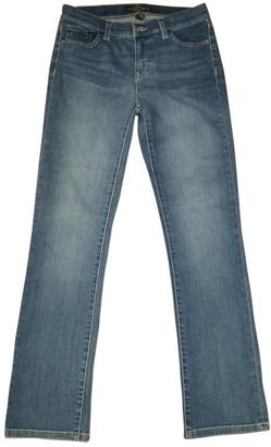 Ralph Lauren Blue Cotton Jeans for Women