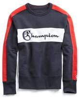 Todd Snyder + Champion Champion Colorblock Sweatshirt in Red, White and Blue