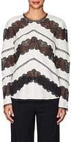 Zimmermann Women's Linen & Lace Blouse