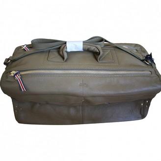 Jerome Dreyfuss Richard Grey Leather Handbags