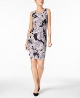 Charter Club Petite Paisley-Print Dress, Created for Macy's