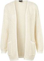 Knitted Plain Grill Cardigan
