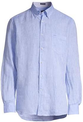 Paul & Shark Regular-Fit Linen Sport Shirt