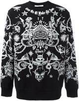Givenchy tattoo print sweatshirt - men - Cotton - M