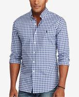 Polo Ralph Lauren Men's Big & Tall Plaid Poplin Shirt