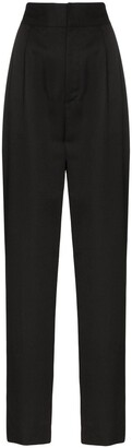 Ambush high-waist straight leg trousers