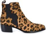 Pierre Hardy leopard print boots