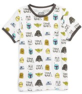 Mighty Fine Toddler Boy's Star Wars(TM) Doodle Graphic T-Shirt