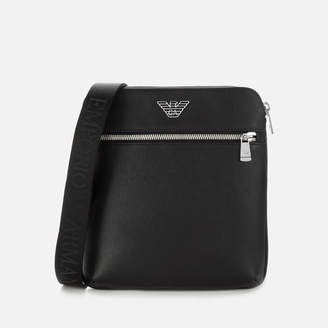 Emporio Armani Men's Leather Cross Body Bag