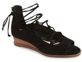 Vince Camuto Women's Rochela Lace-Up Wedge