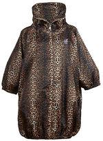 K-Way Leopard Print Parka
