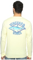 Vineyard Vines Long Sleeve Bonefish Diamond Pocket T-Shirt Men's T Shirt