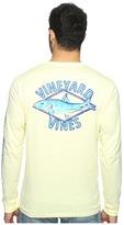 Vineyard Vines Long Sleeve Bonefish Diamond Pocket T-Shirt