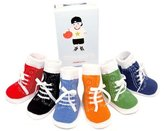 Trumpette Johnny's Baby Socks, 0-12 Months, Pack of 6