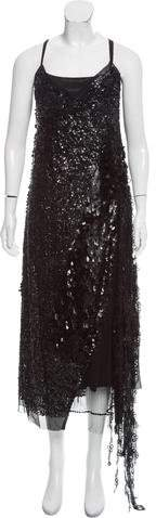 Marc Jacobs Embellished Silk Dress w/ Tags