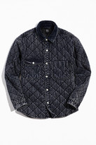 BDG Quilted Washed Canvas Overshirt