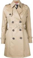Loveless - classic trench coat - women - Cotton - 34