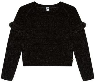 3 Pommes Kid Girl Sweater Black