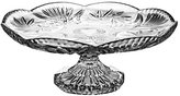 Pack of Aljulia 1046 Cake Plate on Base, Crystal, 30 cm, 30 x 30 x 13 cm