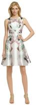 Prabal Gurung Pastel Floral Fantasy Dress