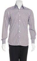Ermenegildo Zegna Su Misura Striped Dress Shirt