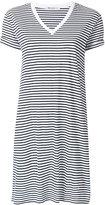 Alexander Wang striped T-shirt dress - women - Cotton - M