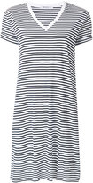 Alexander Wang striped T-shirt dress - women - Cotton - S