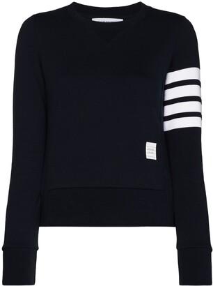Thom Browne 4-Bar Stripe Pullover