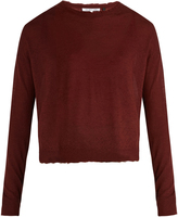Helmut Lang Raw-edge cashmere sweater