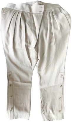 Givenchy Beige Wool Trousers