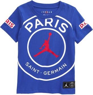 Nike Jordan x Paris Saint-Germain Kids' Logo Graphic Tee