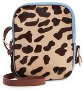 Diane von Furstenberg Leather & Genuine Calf Hair Camera Bag