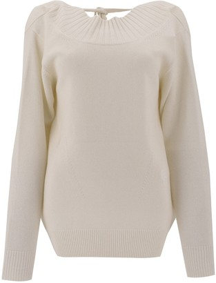 Chloé Open Back Knitted Sweater