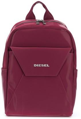 Diesel Fold-Front Zip Around Backpack