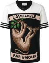 Gucci monkey print T-shirt