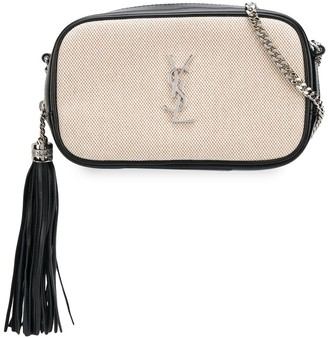 Saint Laurent Lou two-toned crossbody bag