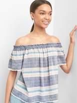 Gap Stripe off-shoulder top