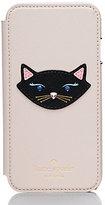 Kate Spade Leather cat folio iphone 6 case