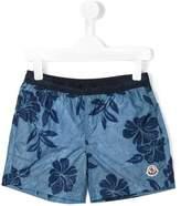 Moncler floral print swim shorts