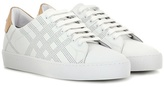 Burberry Westford Leather Sneakers