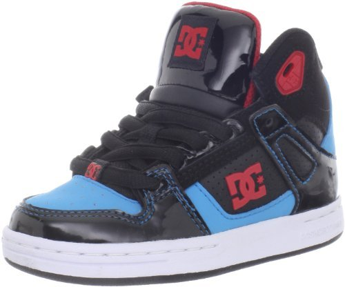 DC Kid's Rebound Shoes Black/Athletic Red