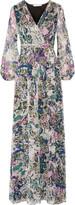 Diane von Furstenberg Celia printed silk-chiffon maxi dress