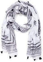 New York & Co. Tassel-Trim Scarf