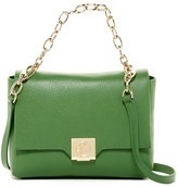 Versace COL Leather Chain Shoulder Bag