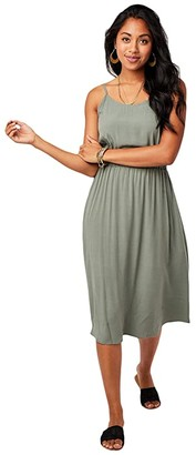 Carve Designs Blakely Dress (Moss) Women's Dress