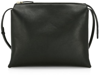 The Row Nu Twin Leather Shoulder Bag