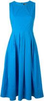 Twin-Set pleated flared dress