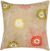 Linea Mago floral embroidered cushion