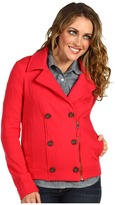 Splendid Peacoat Moto Jacket (Holly) - Apparel