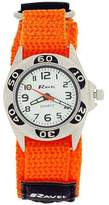 Ravel Boys Quartz Dial Black & Orange Easy Fasten Boys Watch R1507.48